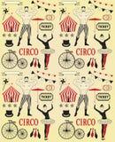 Modello del circo Fotografia Stock Libera da Diritti