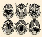 Modello del circo illustrazione vettoriale