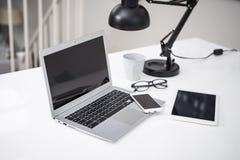 Modello del computer portatile Immagine Stock Libera da Diritti