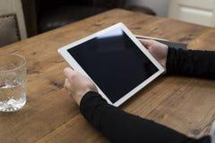 Modello del computer portatile Fotografia Stock Libera da Diritti