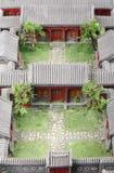 Modello del cortile Fotografia Stock