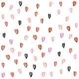 Modello del cuore di amore Fotografia Stock Libera da Diritti
