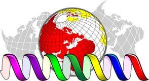 Modello del DNA Immagini Stock Libere da Diritti