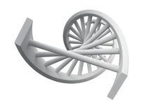 Modello del DNA Fotografie Stock