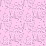 Modello del dolce di cioccolato dei dolci illustrazione vettoriale