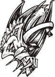 Modello del drago. Fotografia Stock