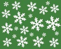 Modello del fiocco di neve Fotografie Stock