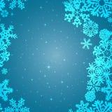 Modello del fiocco di neve Struttura di vettore del fiocco di neve Concetto anno di nuovo e di natale Immagini Stock Libere da Diritti
