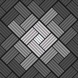 Modello del fondo dei mattoni in bianco e nero Immagine Stock