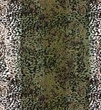 Modello del fondo del leopardo Fotografia Stock