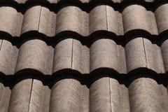 Modello del fondo del tetto Fotografie Stock