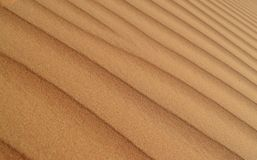 Modello del fondo della duna di sabbia del deserto fotografia stock