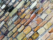 Modello del fondo della parete di pietra Fotografia Stock