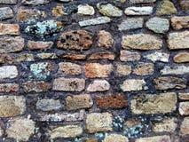 Modello del fondo della parete di pietra Fotografia Stock Libera da Diritti