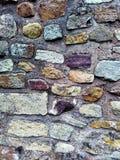 Modello del fondo della parete di pietra Fotografie Stock