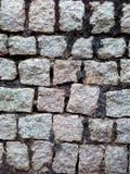 Modello del fondo della parete di pietra Immagini Stock