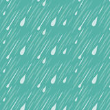 Modello del fondo della pioggia Immagini Stock Libere da Diritti
