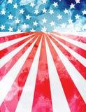 Modello del fondo di U.S.A. Fotografia Stock Libera da Diritti