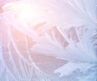 Modello del gelo Immagini Stock