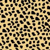 Modello del ghepardo senza cuciture Fotografia Stock