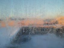 Modello del ghiaccio Fotografia Stock