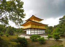 Modello del Giappone Kyoto Kinkakuji Fotografie Stock Libere da Diritti