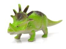 Modello del giocattolo di un dinosauro Fotografie Stock Libere da Diritti