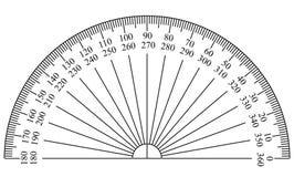 Modello del goniometro Immagine Stock