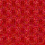 Modello del maglione tricottato rosso Fotografie Stock