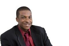 Modello del maschio dell'afroamericano fotografia stock