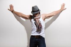 modello del maschio di modo fotografia stock libera da diritti
