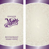 Modello del menu royalty illustrazione gratis