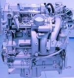 Modello del motore a benzina dell'automobile del primo piano Fotografie Stock