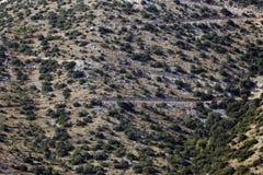 Modello del paesaggio in Croazia Fotografie Stock