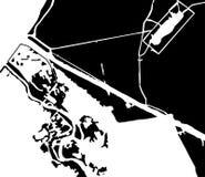Modello del paesaggio nel vettore Fotografia Stock Libera da Diritti