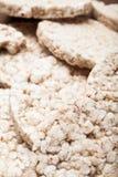 Modello del pane del riso di dieta, verticale illustrazione vettoriale