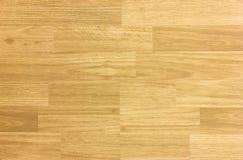 Modello del pavimento di pallacanestro del legno duro dell'acero come osservato da sopra Immagini Stock Libere da Diritti