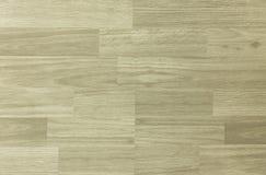 Modello del pavimento di pallacanestro del legno duro dell'acero come osservato da sopra Immagine Stock Libera da Diritti