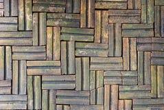 Modello del pavimento di struttura del mattone Fotografia Stock Libera da Diritti