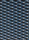 Modello del piatto d'acciaio Fotografie Stock Libere da Diritti