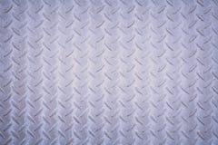 Modello del piatto del diamante del metallo Fotografia Stock