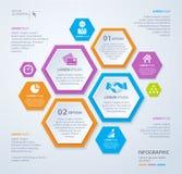 Modello del rombo di vettore per infographic Concetto di affari ENV 10 Immagini Stock Libere da Diritti