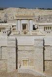 Modello del secondo tempiale, museo dell'Israele Fotografia Stock Libera da Diritti