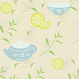 Modello del tè Fotografia Stock