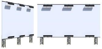 modello del tabellone per le affissioni 3d Fotografie Stock