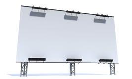 modello del tabellone per le affissioni 3d Fotografia Stock Libera da Diritti