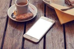 Modello del telefono 6 Fotografie Stock Libere da Diritti