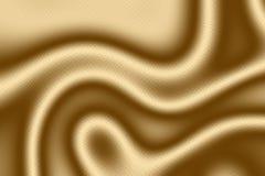 Modello del tessuto dell'oro e fondo d'annata del tessuto, decorazione decorata royalty illustrazione gratis