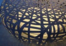 Modello del tessuto di forma di illuminazione della gabbia Fotografie Stock Libere da Diritti