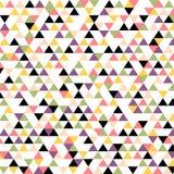 Modello del triangolo senza cuciture Fotografia Stock
